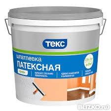 Шпаклівка латексна ТЕКС 8кг